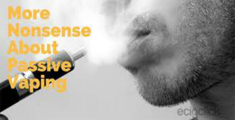 Passive vaping myths exposed