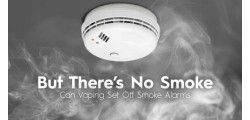 Will Your E-Cigarette Set Off Smoke Alarms?