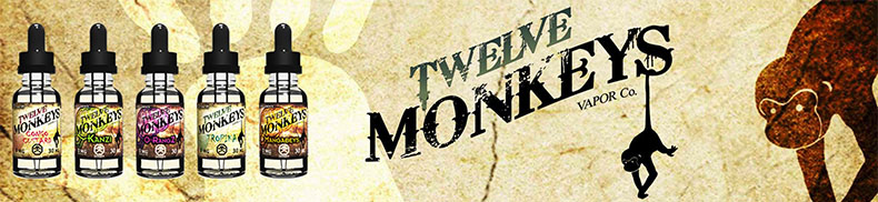 Twelve Monkeys Mangabeys E Liquid